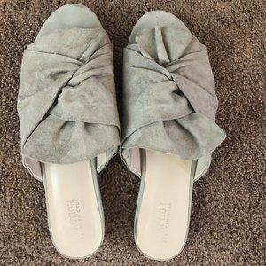 Kenneth Cole Reaction Open-Toe Mules - Size 10